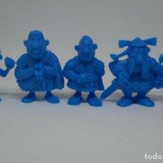 Figuras de Goma y PVC: FIGURAS DUNKIN DE ASTÉRIX Y OBELIX. UDERZO.. Lote 116380347