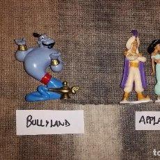 Figuras de Goma y PVC: LOTE MUÑECOS DE GOMA DE ALADDIN DISNEY APPLAUSE BULLY BULLYLAND AÑOS 90. Lote 116393215