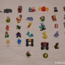 Figuras Kinder: M69 LOTE DE MUÑEQUITOS LA MAYORÍA DE KINDER ANTIGUOS. LO QUE SE VE EN FOTOGRAFÍA.. Lote 116440151