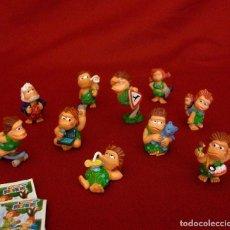 Figuras Kinder: KINDER 2003. LOS CROMAÑONES. SERIE COMPLETA.. Lote 116520251