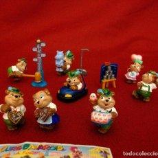Figuras Kinder: KINDER 1996. LOS OSOS BÁVAROS EN LA FERIA. SERIE COMPLETA.. Lote 116521067