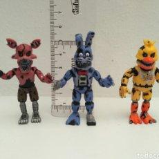Figuras de Goma y PVC: FIVE NIGHTS AT FREDDY'S FUNKO CAWTON 3 FIGURAS. Lote 116523383