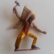 Figuras de Goma y PVC: (SEVILLA) INDIO A PIE COMANSI. Lote 116547287