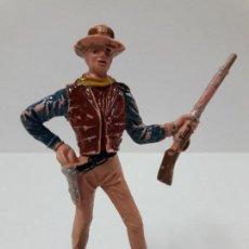 Figuras de Goma y PVC: FIGURA BUCK CANNON . EL GRAN CHAPARRAL . REALIZADA POR COMANSI . AÑOS 60. Lote 116549343