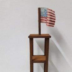 Figuras de Goma y PVC: TORRE DE VIGILANCIA PARA FUERTE . REALIZADA EN MADERA . AÑOS 60. Lote 116556411