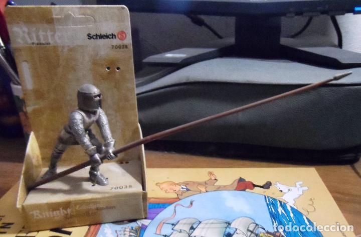 Figuras de Goma y PVC: Infante con pica en su caja o blíster. Schleich. - Foto 2 - 116663475