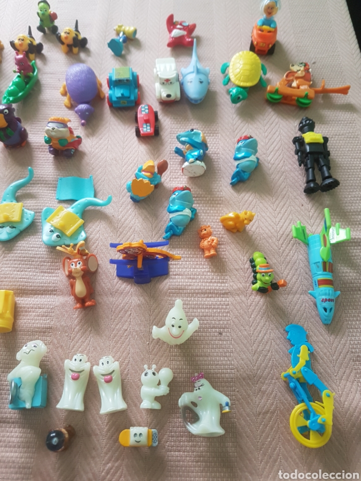 Figuras Kinder: Lote 78 figuras pvc ferrero kinder - Foto 4 - 116683646