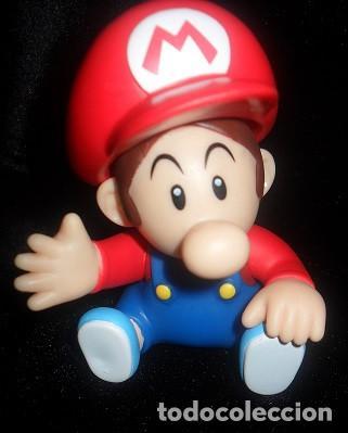figura super mario bros bebe mario juguetes figuras de goma y pvc - Bebe Mario