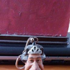 Figuras de Goma y PVC: BUSTO GOMA REINA INGLATERRA. SPITTING IMAGE.. Lote 116753170