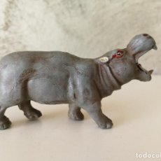 Figuras de Goma y PVC: HIPOPÓTAMO DE GOMA PECH AÑOS 50. Lote 116757227