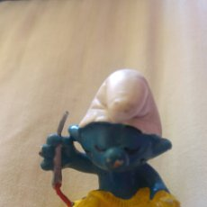 Figuras de Goma y PVC: PITUFO SASTRE PVC PEYO. Lote 116766851