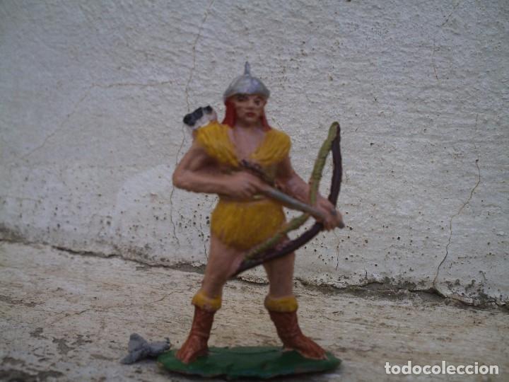 Figuras de Goma y PVC: guerreo huno de jecsan - Foto 2 - 116777427