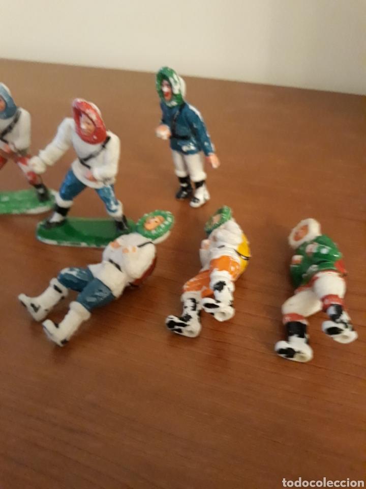 Figuras de Goma y PVC: FIGURAS 9 ESQUIMALES SOTORRES AÑOS 60 - Foto 2 - 116787066
