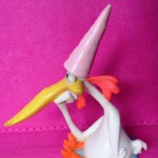 Figuras de Goma y PVC: FIGURA PVC CARTOON NETWORK VACA Y POLLO 1999. Lote 117023283