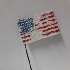 Figuras de Goma y PVC: BANDERA AMERICANA . REALIZADA POR PECH . AÑOS 60. Lote 117035559