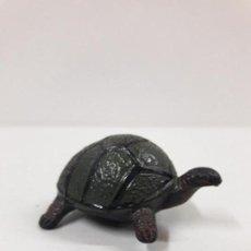 Figuras de Goma y PVC: TORTUGA . REALIZADO POR PECH . SERIE FIERAS - HISTORIA NATURAL . AÑOS 50 EN GOMA. Lote 117042023