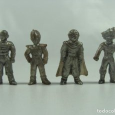 Figuras de Goma y PVC: FIGURAS DE DRAGON BALL HECHAS EN PERÚ POR CHOCOLATES WINTERS - SET PLATEADO - PRECIO POR CADA UNA. Lote 117601015