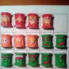 Figuras de Goma y PVC: LOTE ABATONS JUGUETES. Lote 117297147