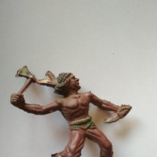 Figuras de Goma y PVC: RARO INDIO GOMA LAFREDO COPIA ELASTOLIN. Lote 117307387