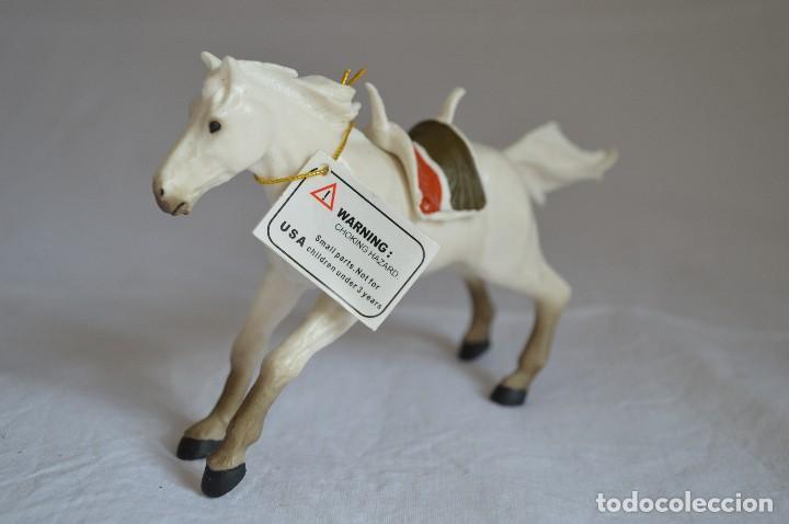 Figuras de Goma y PVC: Caballo. Figura Papo. 1999. romanjuguetesymas. - Foto 2 - 117379835