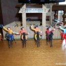 Figuras de Goma y PVC: LOTE COMPLETO VAQUERO, VAQUEROS DE COMANSI. Lote 117391615