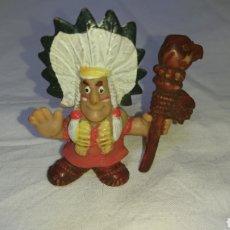 Figuras Kinder: FIGURA GOMA INDIO. Lote 117452794
