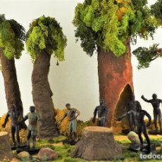 Figuras de Goma y PVC: ARCLA BASES EN METACRILATO. SEIS UNIDADES. Lote 117499803