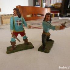 Figuras de Goma y PVC: MOSQUETEROS DEL REY-ESCALA 1/32(60MM). Lote 117508999