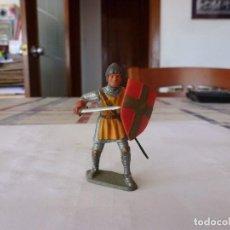 Figuras de Goma y PVC: GUERRERO MEDIEVAL-(54MM). Lote 117523011