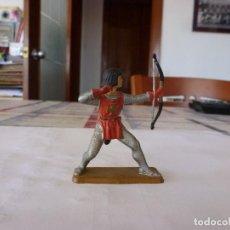 Figuras de Goma y PVC: GUERRERO MEDIEVAL-(54MM). Lote 117523047