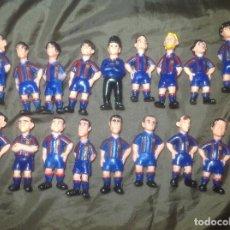 Figuras de Goma y PVC: 25 FIGURAS DE GOMA F C BARCELONA BARÇA TEMPORADA 95 96. Lote 117524355