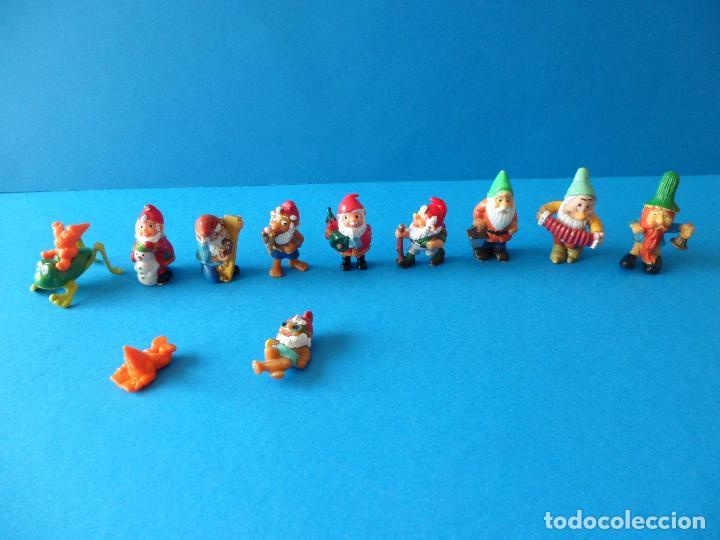 VARIADO LOTE DE ENANITOS O GNOMOS KINDER SORPRESA (Juguetes - Figuras de Gomas y Pvc - Kinder)