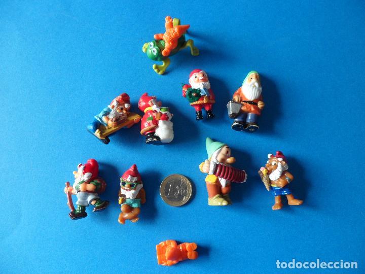 Figuras Kinder: Variado lote de Enanitos o Gnomos Kinder Sorpresa - Foto 18 - 117556871