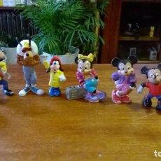 Figuras de Goma y PVC: GOOFY, MINNIE, MICKEY, PLUTO. Lote 117571311