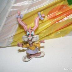 Figuras de Goma y PVC: MUÑECO FIGURA CONEJO BEBE WARNER NOVIA BUG BUNNY . Lote 117672347