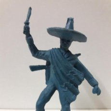 Figuras de Goma y PVC: MEJICANO - CHARRO . REALIZADO EN PLASTICO MONOCOLOR. Lote 117761139