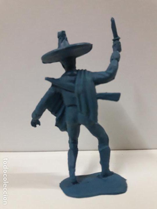 Figuras de Goma y PVC: MEJICANO - CHARRO . REALIZADO EN PLASTICO MONOCOLOR - Foto 2 - 117761139