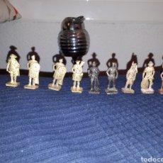 Figuras Kinder: LOTE 9 FIGURAS DUNKIN KINDER METAL SOLDADOS. Lote 117799240