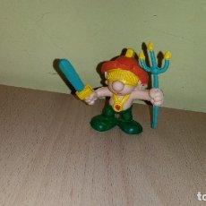 Figuras de Goma y PVC: FIGURA PITUFO ROMANO GLADIADOR ROMAN GNOME ROMER PITUFOS SMURFS SCHLUMPF SCHLUMPFE PUFFO. Lote 104599499