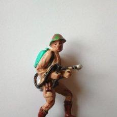 Figuras de Goma y PVC: FIGURA SOLDADO BRITÁNICO PECH HNOS. Lote 117869619