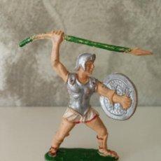 Figuras de Goma y PVC: SOLDADO GRIEGO GLADIADOR LAFREDO EN GOMA BLANDA. Lote 118030119