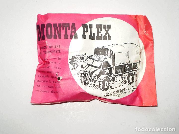SOBRE MONTAPLEX CAMIÓN MILITAR DE TRANSPORTE - SOBRE CERRADO (Juguetes - Figuras de Goma y Pvc - Montaplex)
