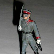Figuras de Goma y PVC: FIGURA DESFILE EJÉRCITO ESPAÑOL POLICIA ARMADA, FABRICADA EN PLÁSTICO, PECH, ORIGINAL AÑOS 60.. Lote 118078063