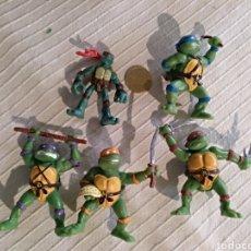 Figuras de Goma y PVC: LOTE TORTUGAS NINJA PVC YOLANDA MIRAGE. Lote 118126215