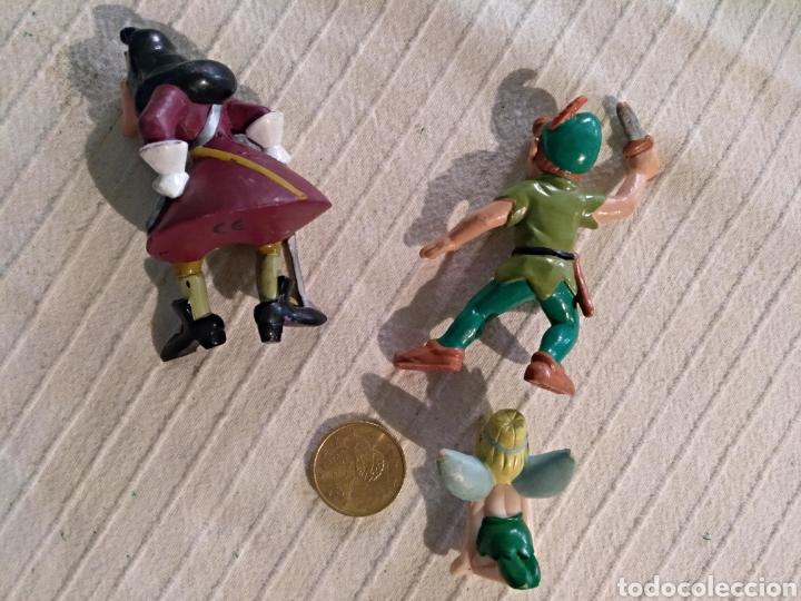 Figuras de Goma y PVC: Lote 3 figuras pvc Bullyland Peter Pan, Garfio, Campanilla Disney - Foto 2 - 118127467