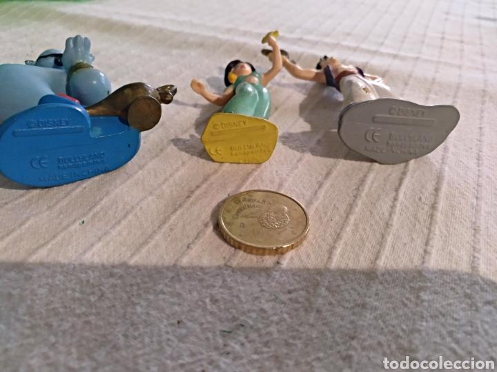 Figuras de Goma y PVC: Lote 3 figuras pvc Disney Bullyland Aladino genio Jazmin - Foto 3 - 118127820