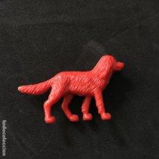 Figuras de Goma y PVC: FIGURA PERRO PLASTICO DUNKIN MUÑECOS FIGURA MUÑECO FIGURAS DE LA GRANJA TITO. Lote 118168419