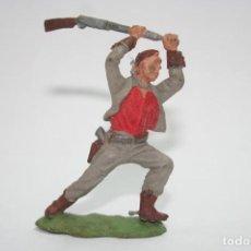 Figuras de Goma y PVC: FIGURA OESTE VAQUERO BRITAINS. Lote 118349299