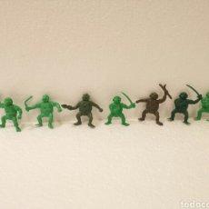 Figuras de Goma y PVC: FIGURAS PVC TORTUGAS NINJA TIPO DUNKIN. Lote 118396302