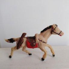 Figuras de Goma y PVC: CABALLO PVC JECSAN VAQUEROS INDIOS . Lote 118432207